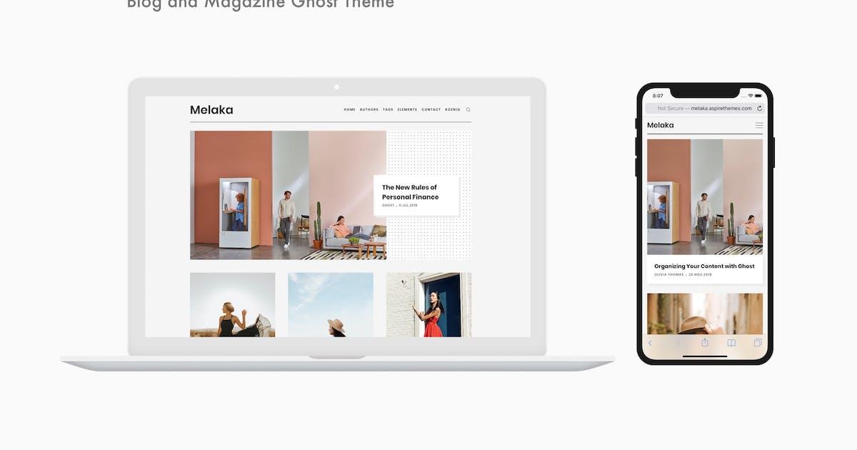 Download Melaka - Blog and Magazine Ghost Theme by aspirethemes