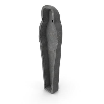 Unterteil Stein ägyptischer Sarkophag