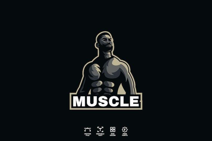 Muskel-Logodesign