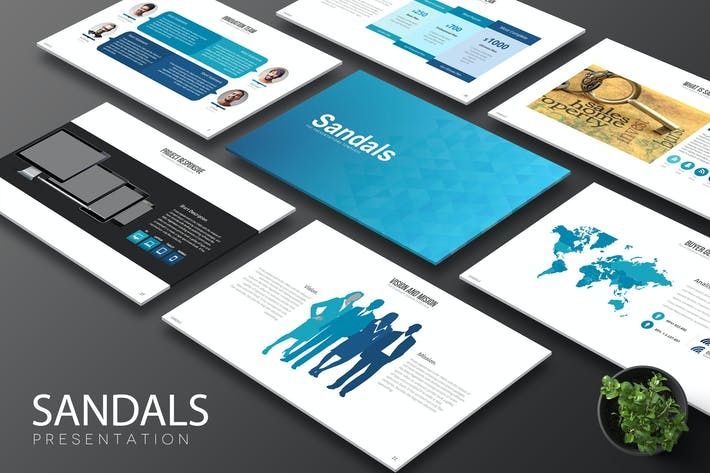 Thumbnail for Sandals - Keynote Template