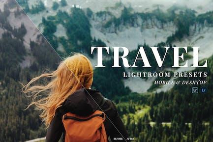 Travel Mobile and Desktop Lightroom Presets