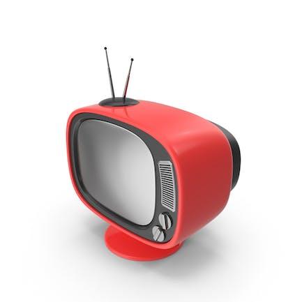 Televisión de Dibujos animados rojos