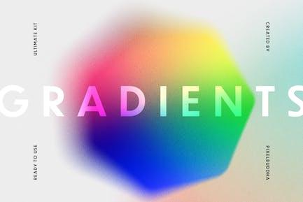 Grundlegende abstrakte Farbverläufe und