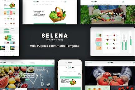 Selena - Organic Responsivo Prestashop Tema
