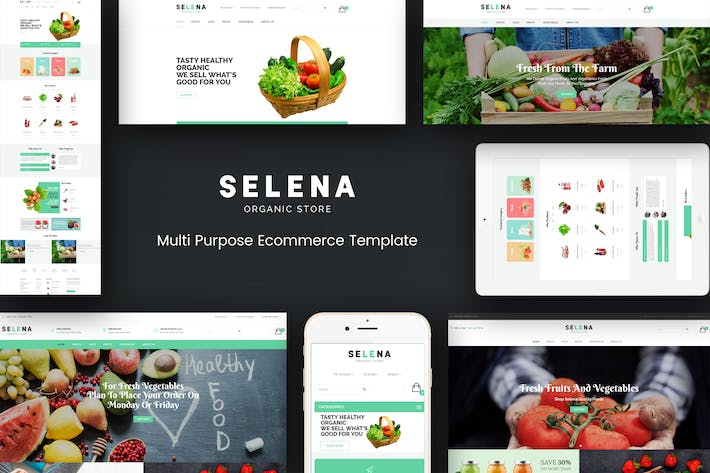 Thumbnail for Selena - Organic Responsive Prestashop Theme