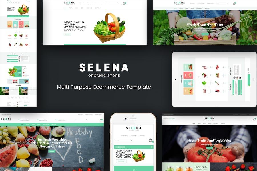 Selena - Organic Responsive Prestashop Theme
