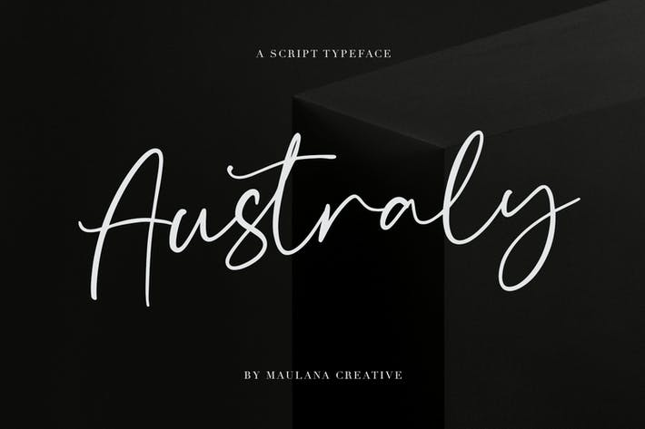 Thumbnail for Australy Font