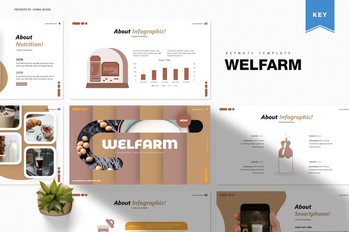 Thumbnail for Welfarm | Шаблон Keynote