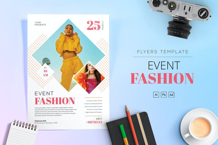 Thumbnail for Event Fashion Flyer