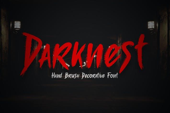 Thumbnail for Темный - Шрифт