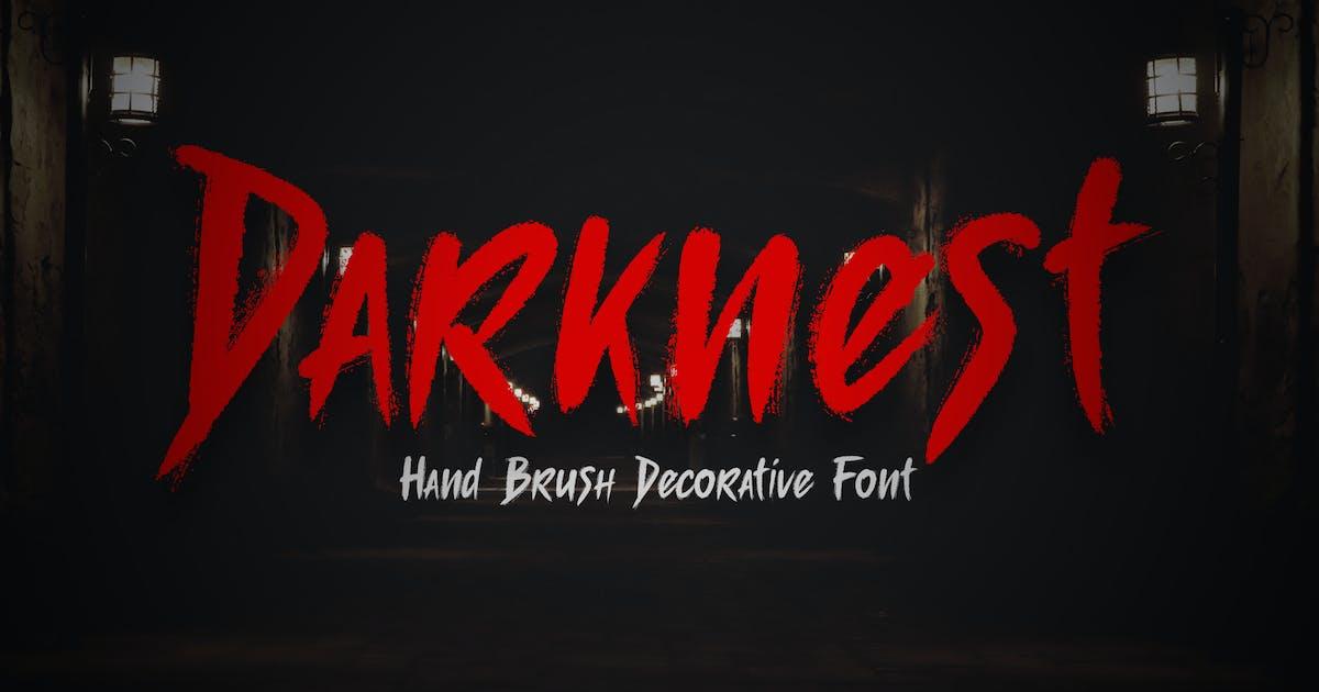 Darknest - Font by Blesstudio