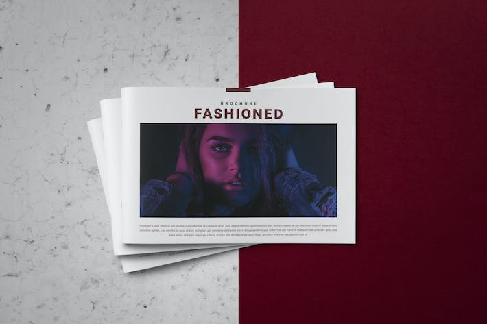 Thumbnail for Fashioned Indesign Brochure Catalogue Template