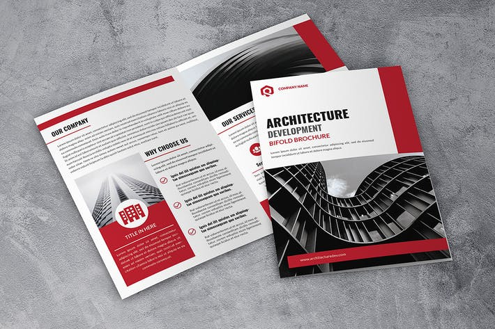Thumbnail for Architecture Bifold Brochure