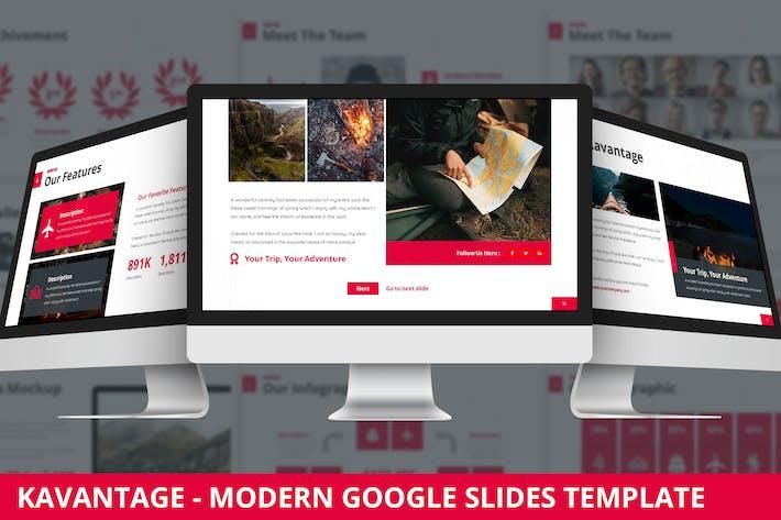 Kavantage - Modern Google Slides Template