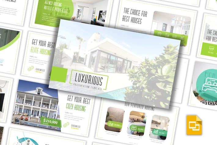 Thumbnail for Luxurious - Real Estate Keynote Template