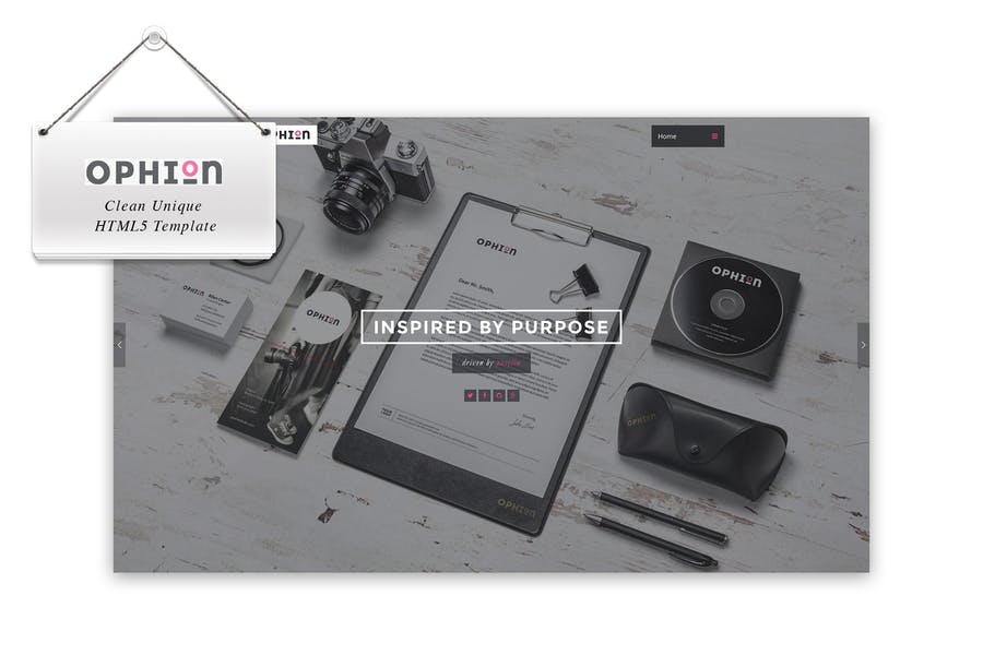 Ophion - Clean Unique HTML5 Template
