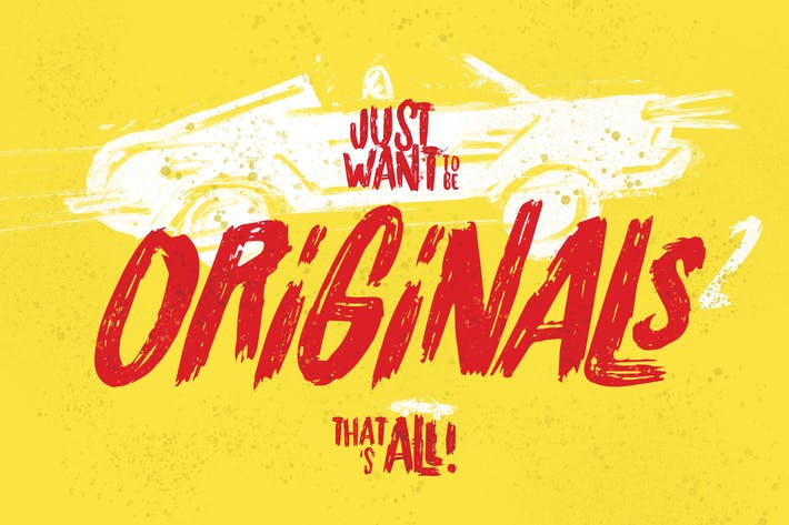 Thumbnail for Originals 2 Typeface