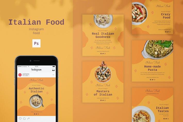 Thumbnail for Italian Food Instagram Feed Post