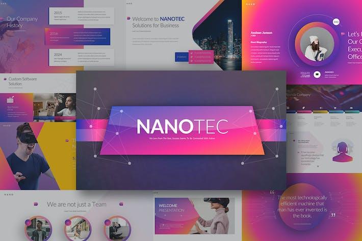 Thumbnail for Plantillas para Keynote Nanotec
