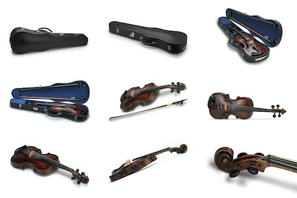 Violin and Case_Collection