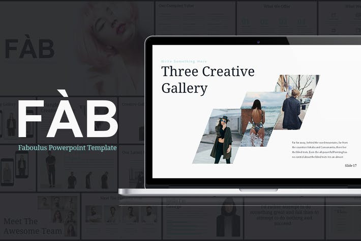 Thumbnail for FAB - Powerpoint Presentation Template