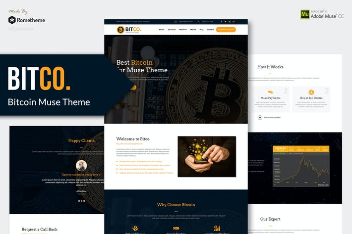 Thumbnail for Bitco - Bitcoin, Crypto-currency Muse Modèle YR