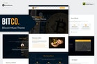 Bitco - Bitcoin, Cryptocurrency Muse Template YR