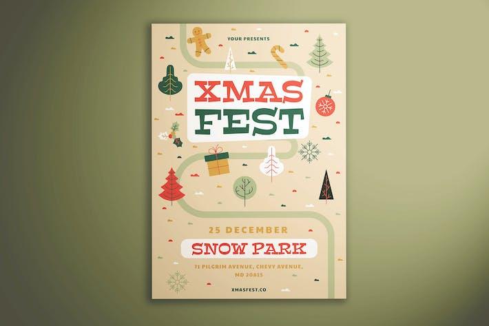 Thumbnail for Xmas Fest Flyer