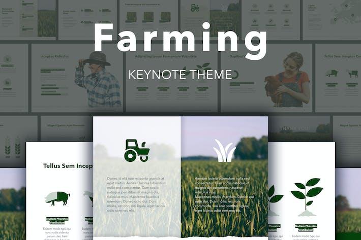 Thumbnail for Farming Keynote Template