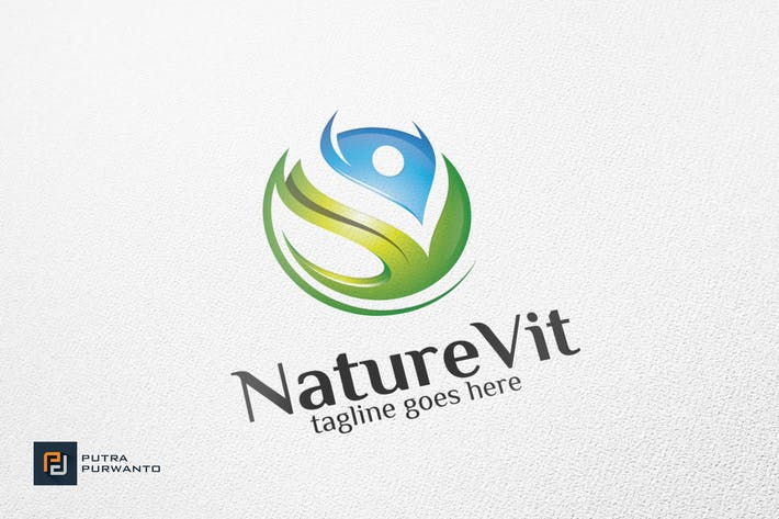 Thumbnail for NatureVit - Logo Template