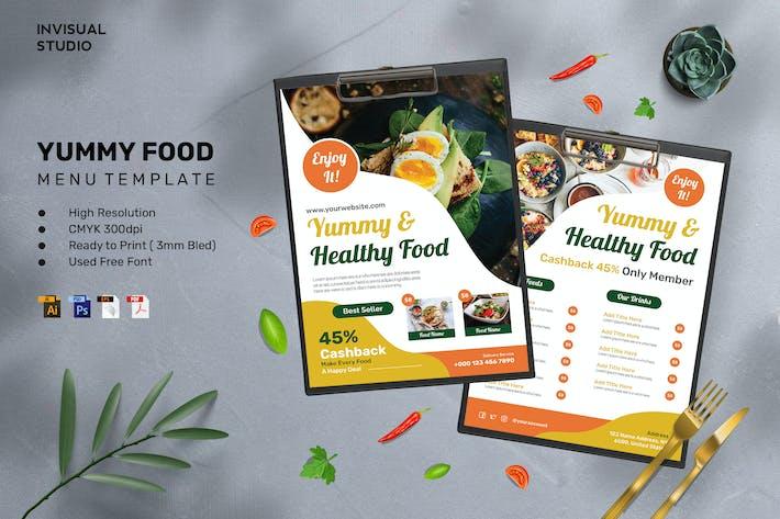 Healthy Food - Food Menu
