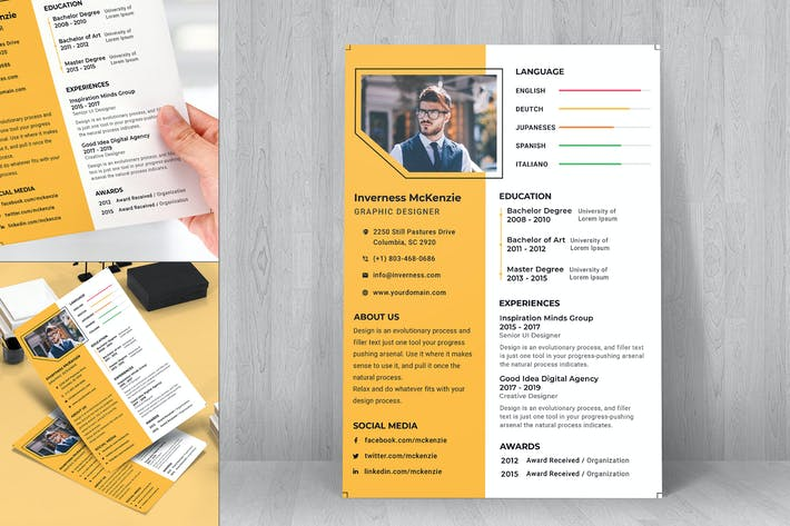 Thumbnail for Resume CV Template-27