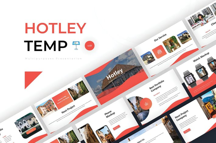 Thumbnail for Hotley - Keynote Template