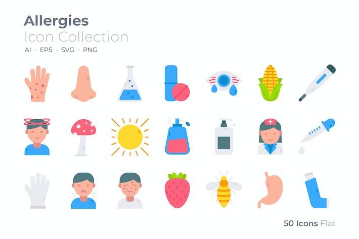 Allergies Color Icon