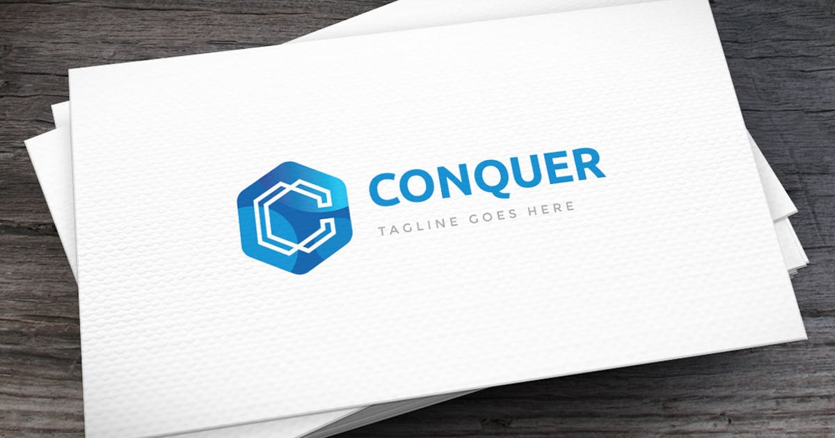 Conquer Letter C Logo Template by empativo