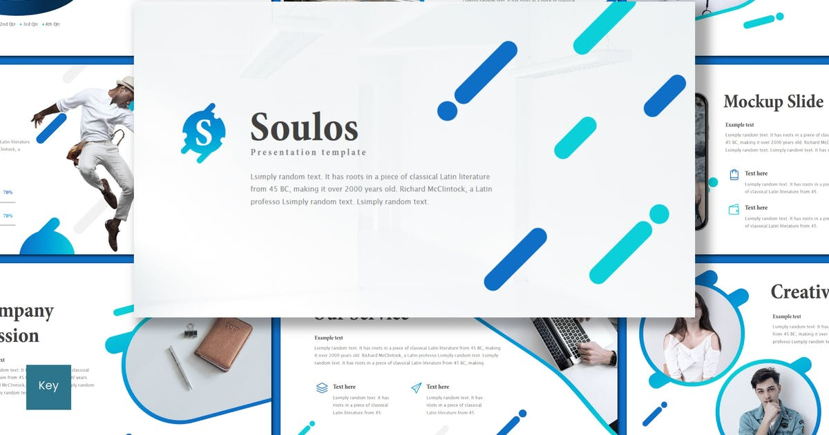 Download Soulos - Keynote Template by inspirasign