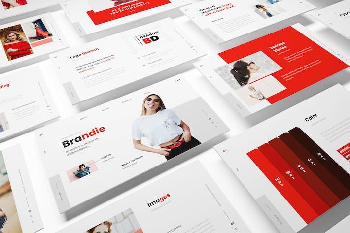 Thumbnail for Brandie Branding Keynote Template