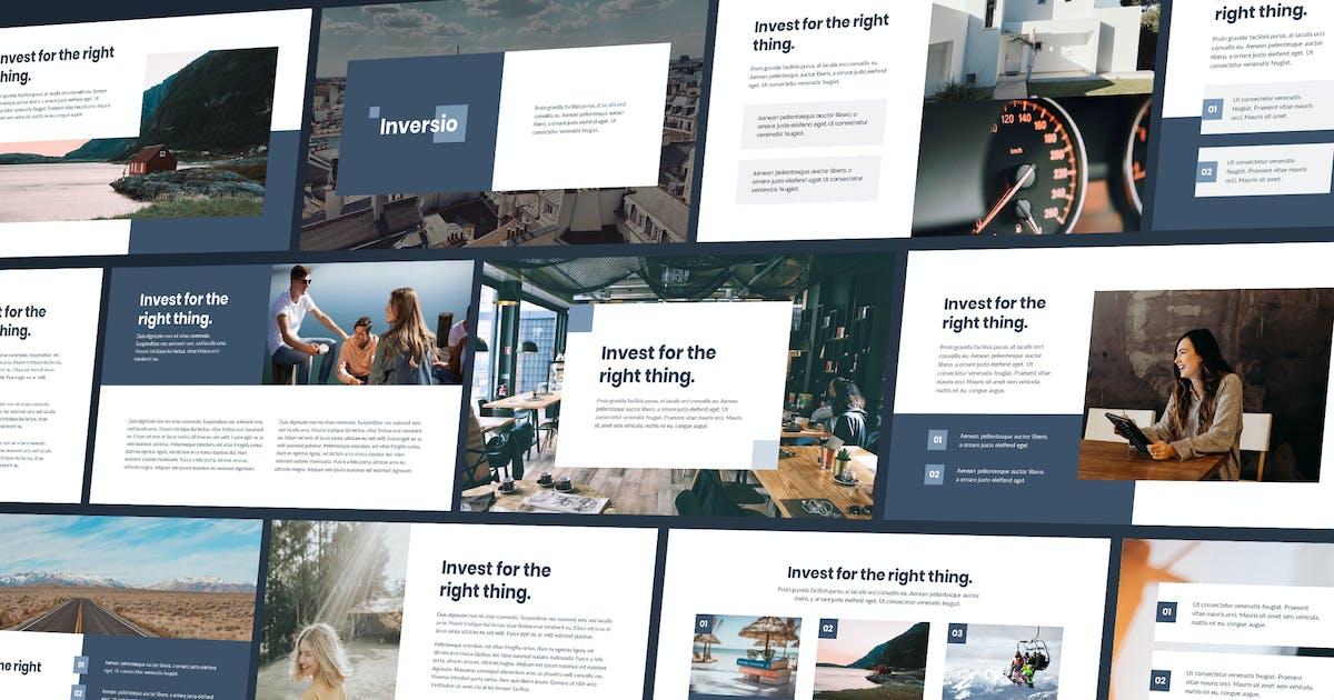 Download Inversio - Corporate Theme Keynote Template by Slidehack