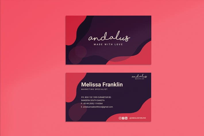 Thumbnail for Andalus Business Card