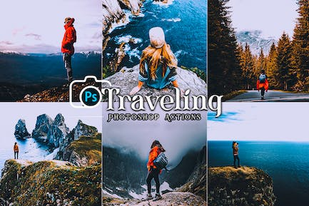 Traveling Photoshop  Actions
