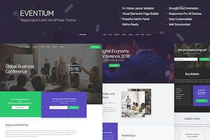 Eventium - Responsivo Event Tema de WordPress