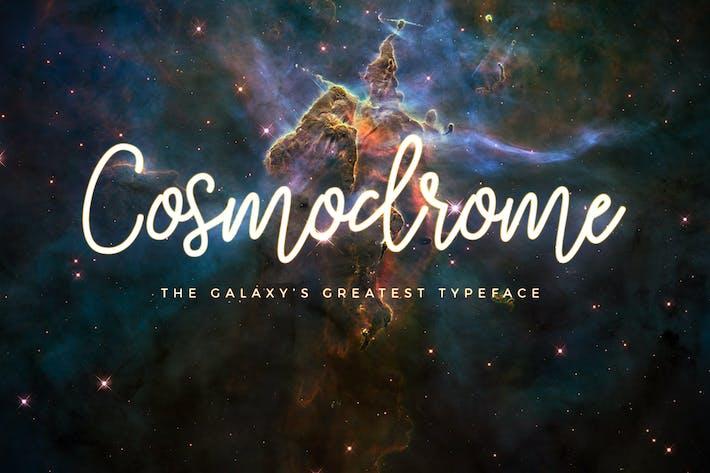 Thumbnail for Cosmodrome Monoline Script Font