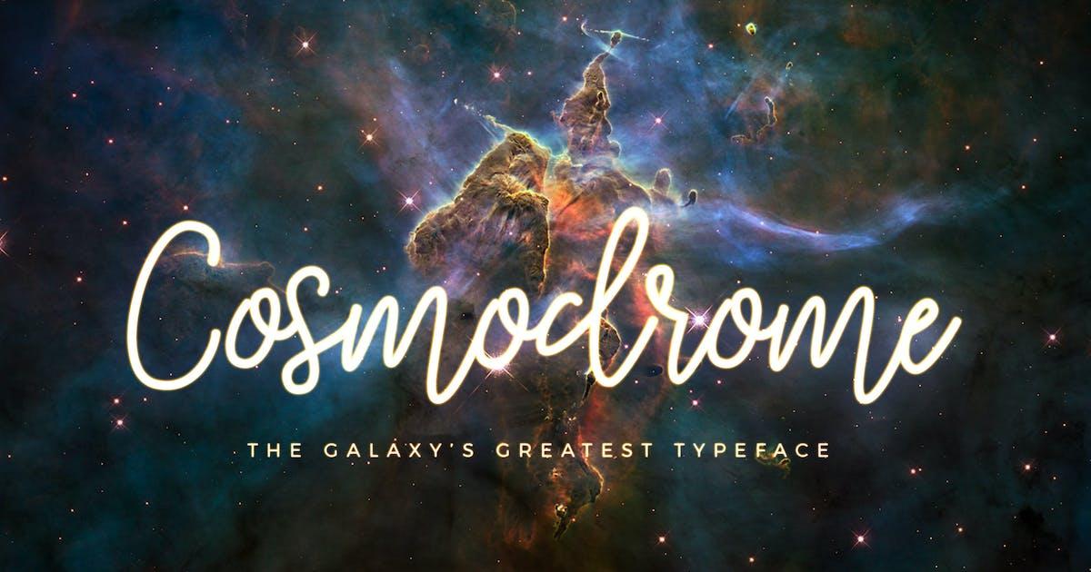 Download Cosmodrome Monoline Script Font by DesignPanoply