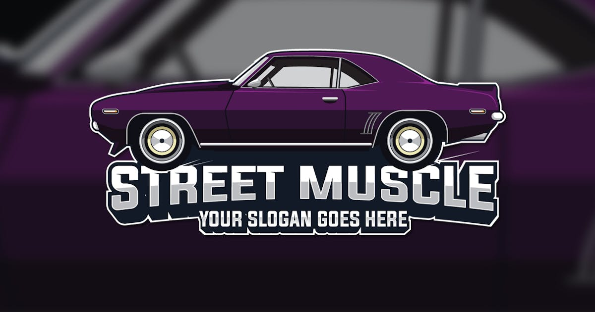 Download Muscle Car Logo by the-sastra