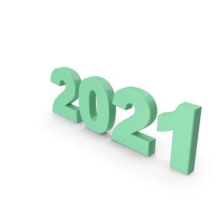 2021 grün
