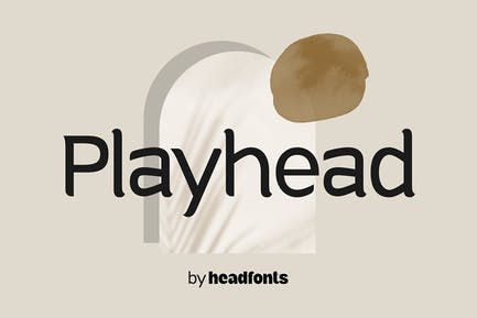 Playhead playful font