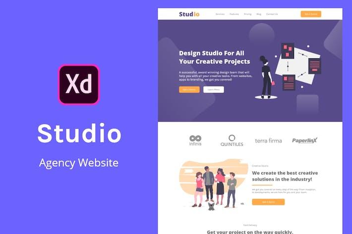 Thumbnail for Studio Design Agency Website