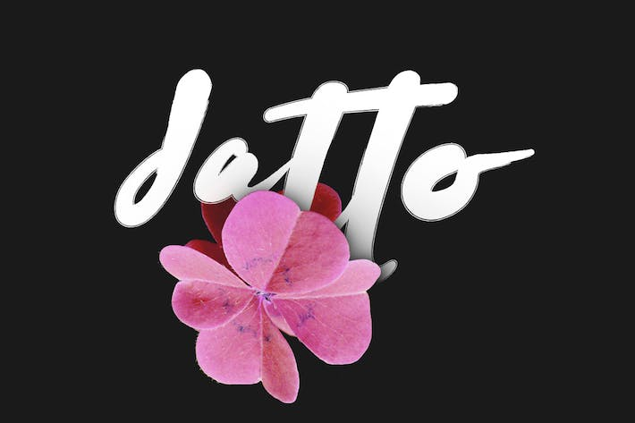 Cover Image For Datto Typeface