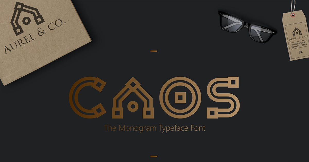 Download CAOS | The Logo Typeface by sameehmedia