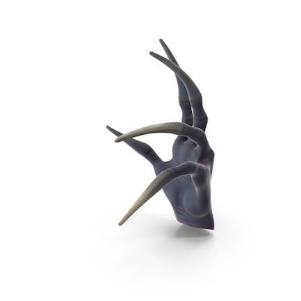 Unheimlich Kreatur Handgelenk